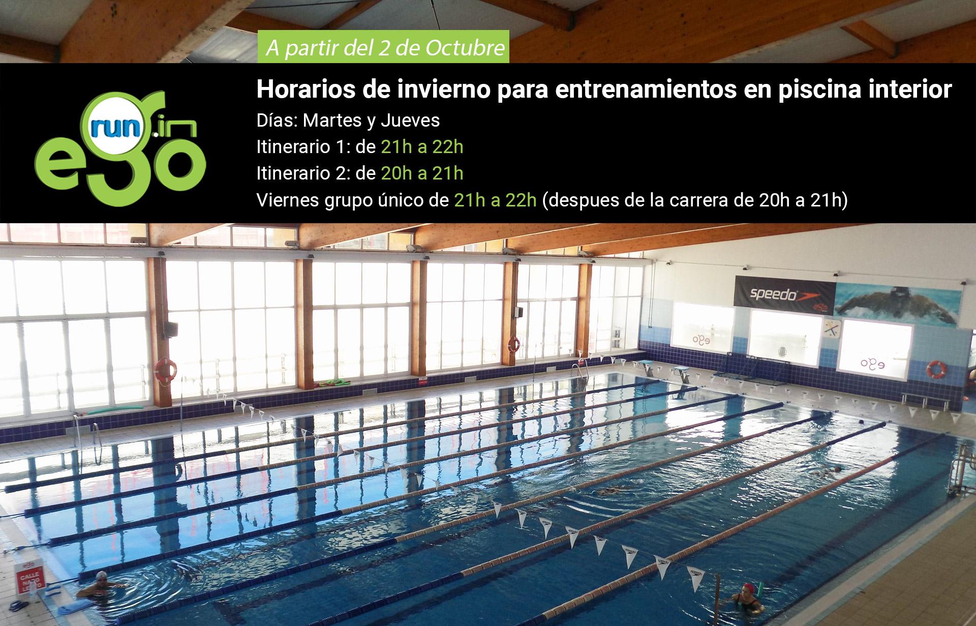 Entrenamiento y horarios que el club ego pone a for Horario piscina alaquas