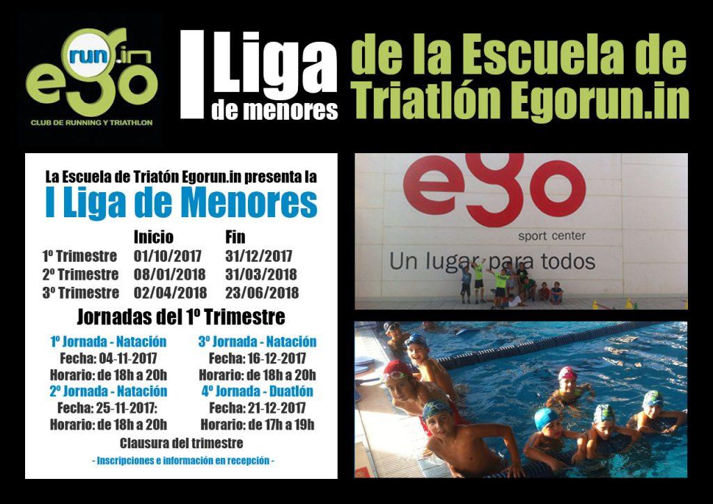 I Liga de menores de la Escuela de Triatlón Egorun.in